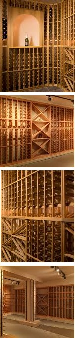 Custom Wine Cellars by Blue Grouse
