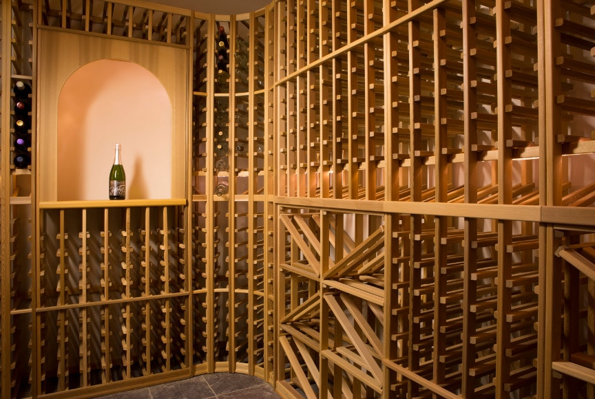 Get your free wine cellar design from Blue Grouse