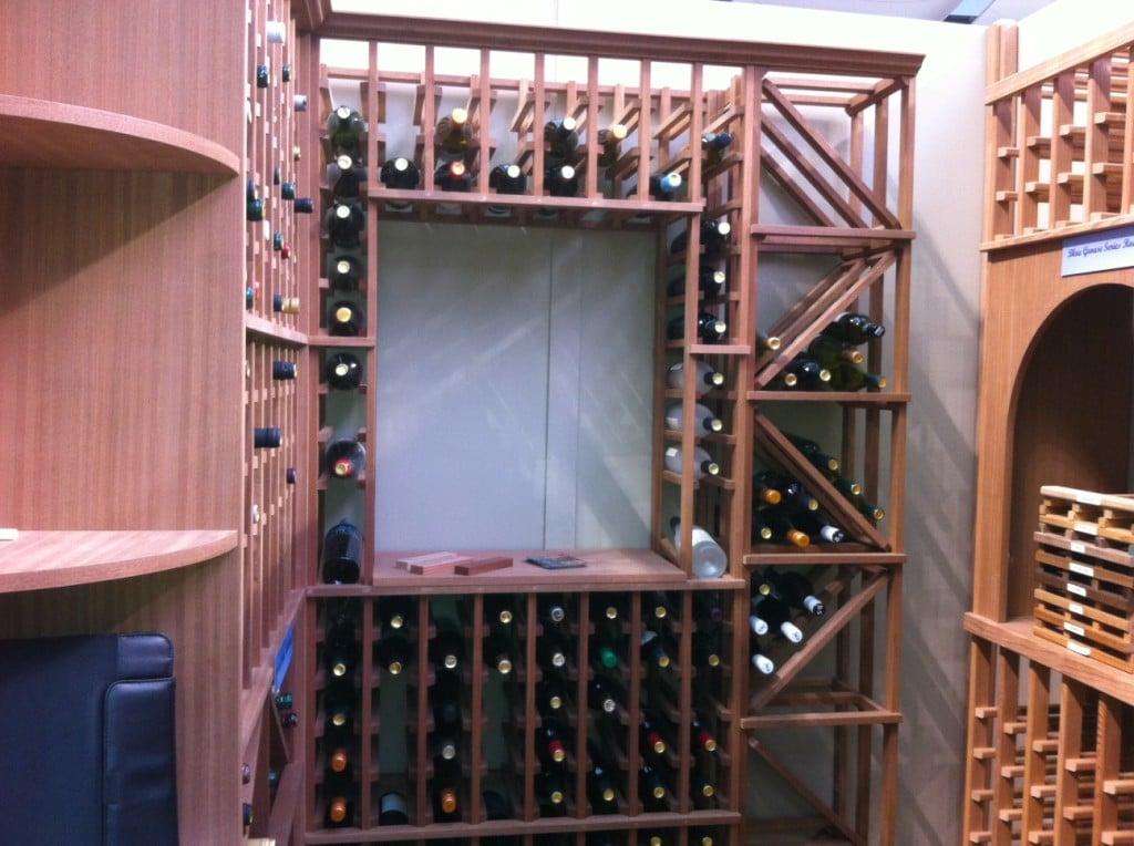 More than just wine racking wine cellars are custom built