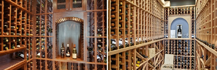Wine cellars in Vancouver