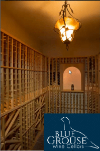 Wine Cellar designed by Blue Grouse