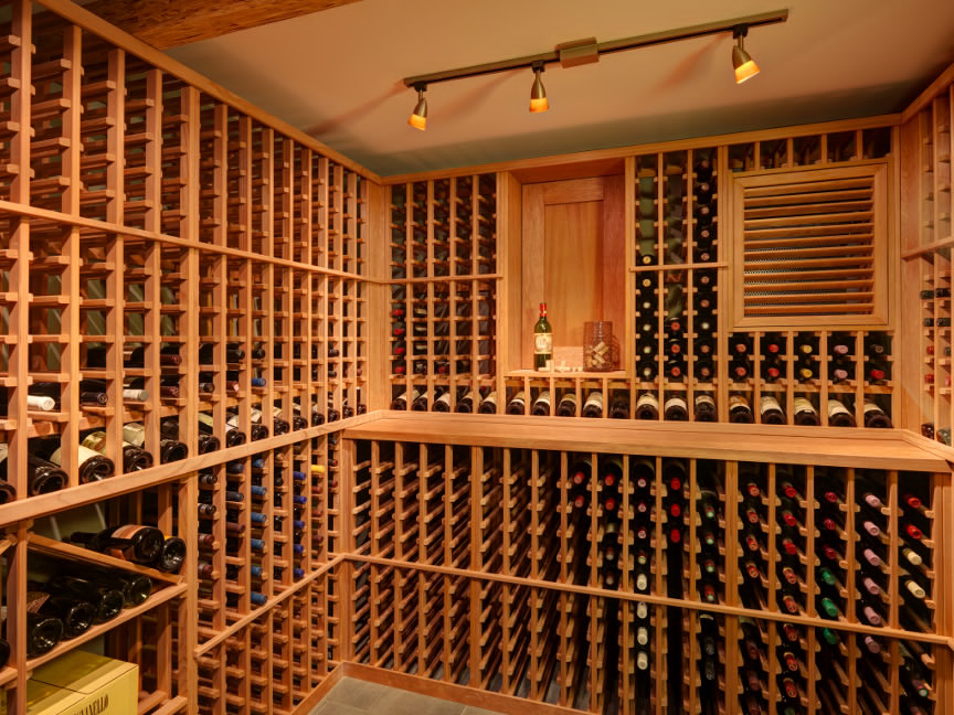 Blue Grouse Wine Cellar Project & Blue Grouse Builds a Wine Cellar in Vancouver Canada | Custom Wine ...