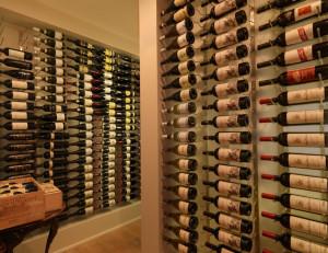 Vintage View Wine Racking