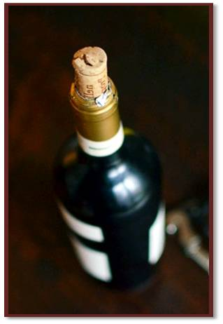 wine oxidation affects the cork