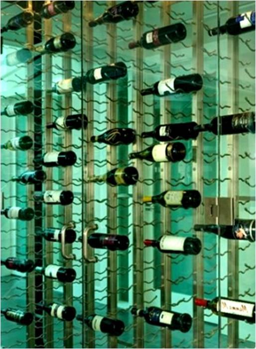 wine storage Canada