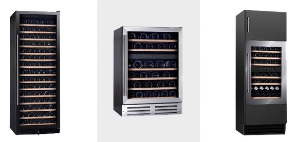 Single or Dual Temperature Option - Vinopro Wine Fridges