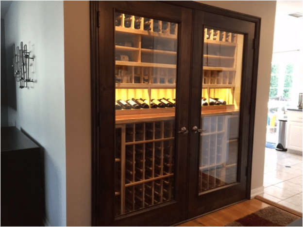 Finished New Jersey Wine Cellar Project