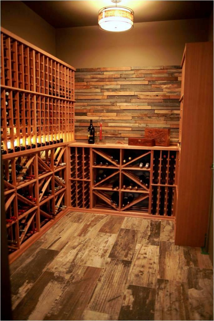 Home wine cellar designs wine closet ideas home wine for Cost to build wine cellar