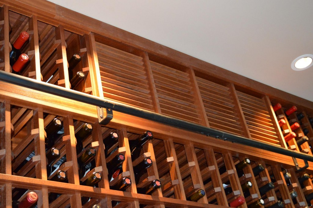 Attractive Sapele Mahogany Wooden Wine Racks