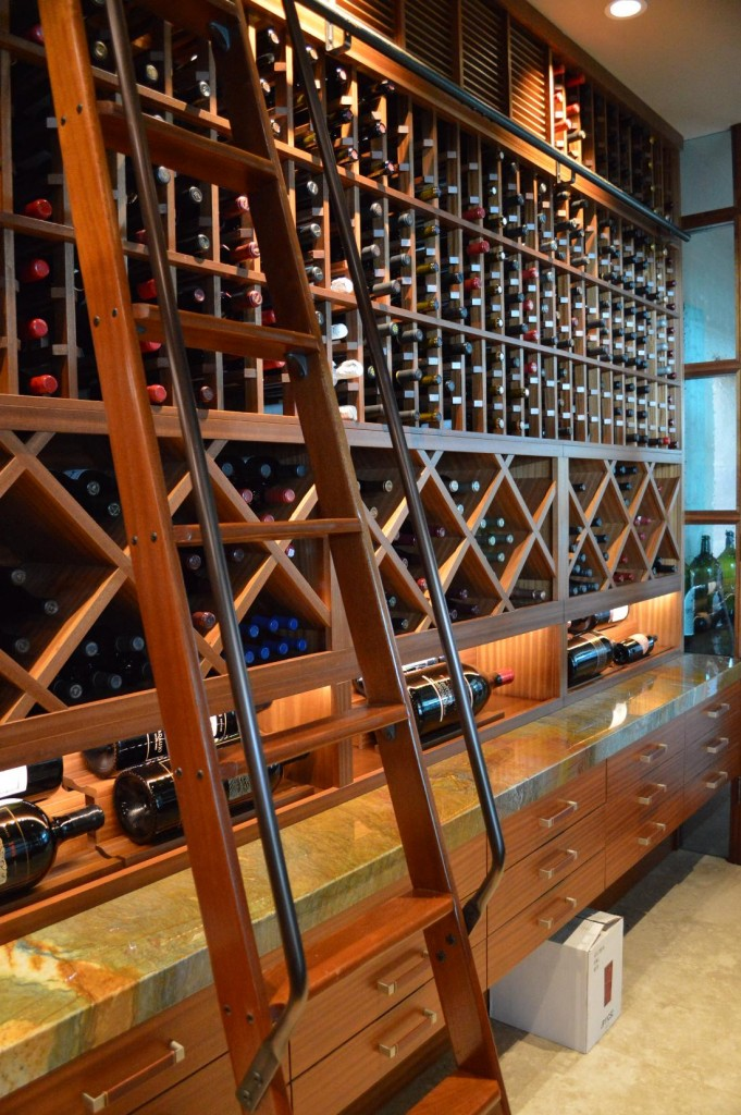 Custom Wine Cellar Design Canada